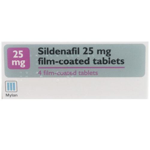 sildenafil 25mg
