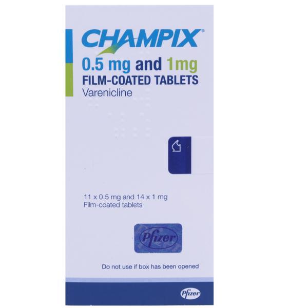 Withdrawal symptoms stopping champix